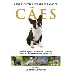 Livro A Enciclopédia Ilustrada de Raças de Cães - Volume 2