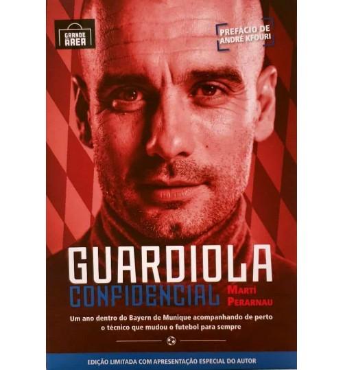 Livro Guardiola Confidencial - Edição Especial Numerada - Capa Dura