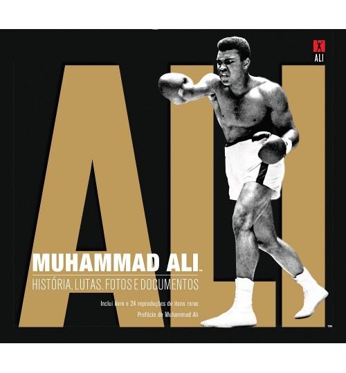 Livro Muhammad Ali - História, Lutas, Fotos e Documentos