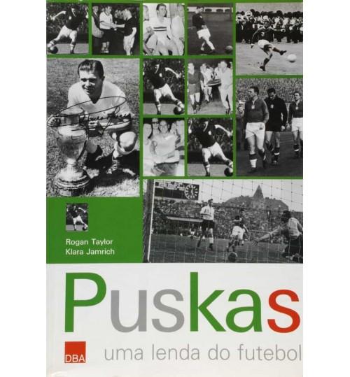 Livro Puskas uma Lenda do Futebol