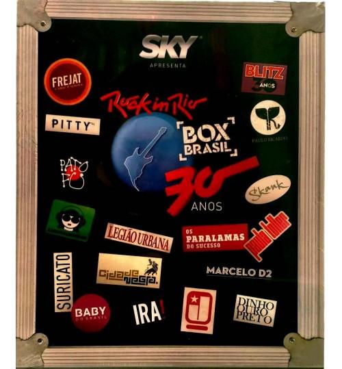 Box Especial Rock In Rio 30 Anos - Box Brasil