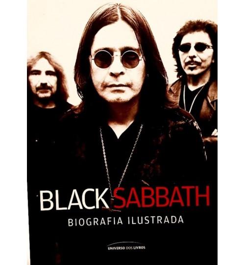 Livro Black Sabbath Biografia Ilustrada