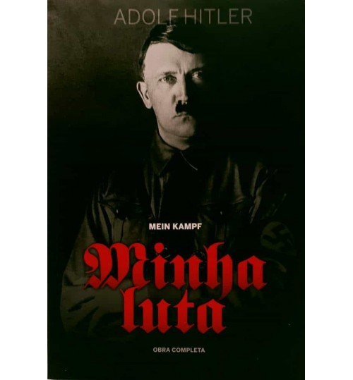 Livro Minha Luta Adolf Hitler - Obra Completa
