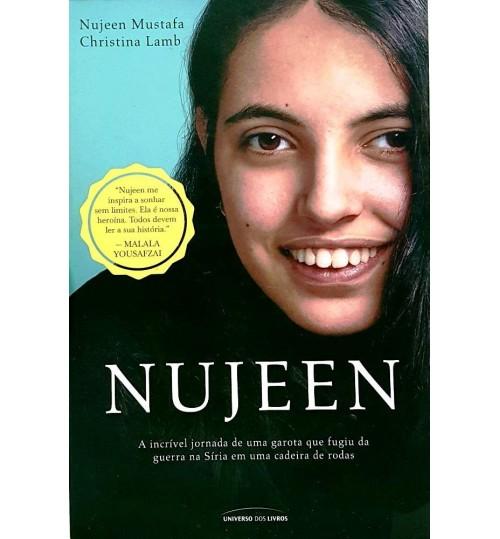 Livro Nujeen A Incrível Jornada de uma Garota que Fugiu da Guerra na Síria em uma Cadeira de Rodas
