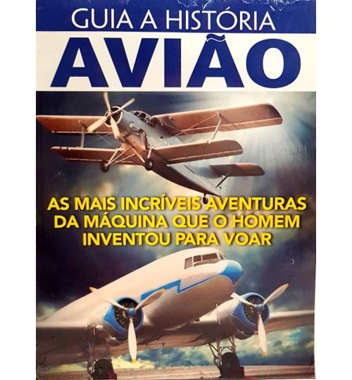 Revista Guia A História Avião