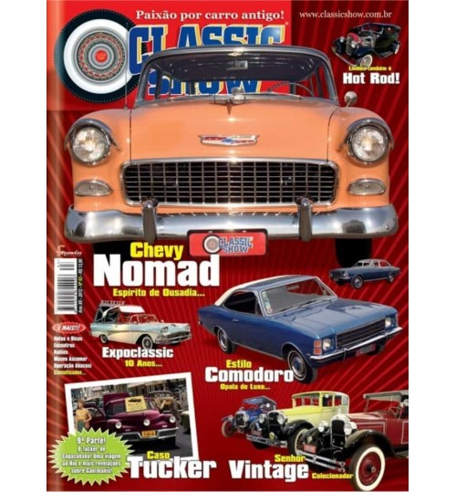 Revista Classic Show Chevy Nomad N° 63