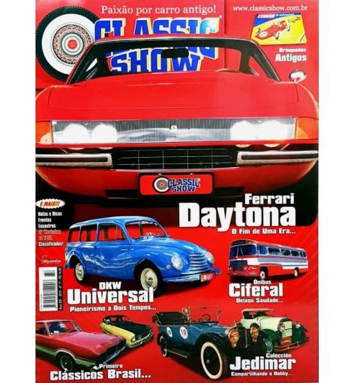 Revista Classic Show Ferrari Daytona O Fim de Uma Era N° 77