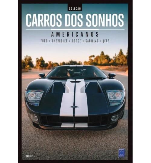 Livro Coleção Carros dos Sonhos - Americanos