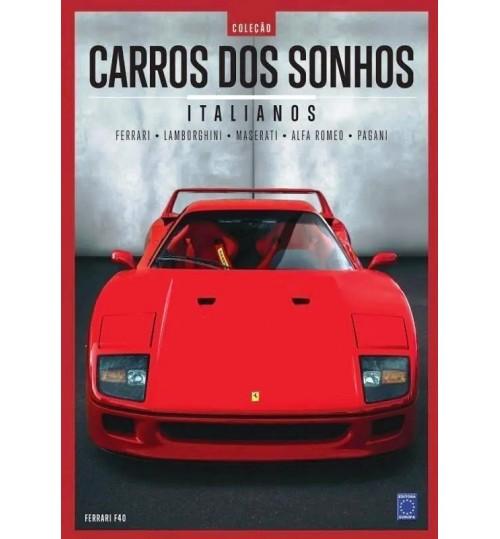 Livro Coleção Carros dos Sonhos - Italianos