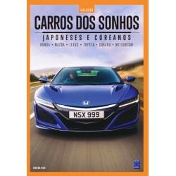 Livro Coleção Carros dos Sonhos - Japoneses e Coreanos