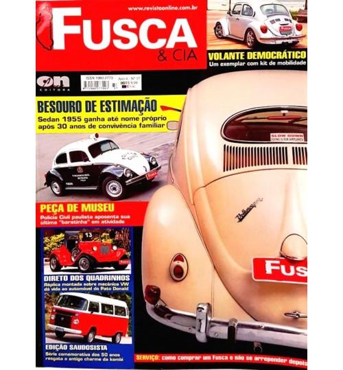 Revista Fusca & Cia N° 37 Besouro de Estimação