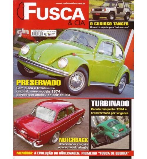 Revista Fusca & Cia N° 40 Preservado
