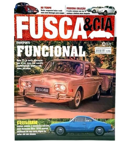 Revista Fusca & Cia N°149 Transporte Funcional