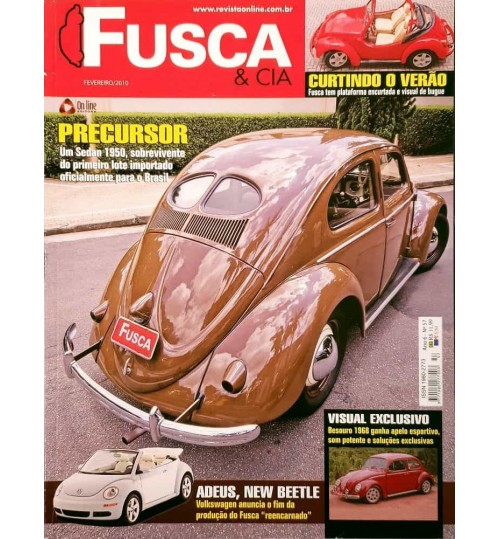 Revista Fusca & Cia Nº 57 Precursor