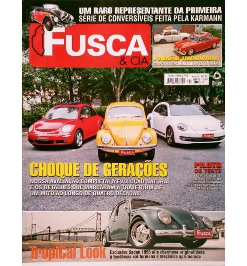 Revista Fusca & Cia Nº 92 Choque de Gerações