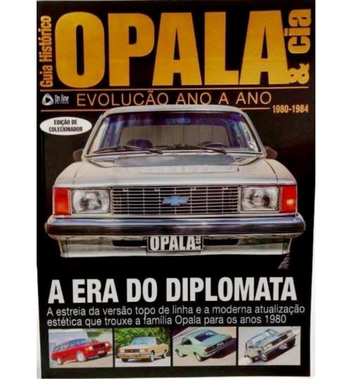 Revista Guia Histórico Opala & Cia A Era do Diplomata 1980 - 1984