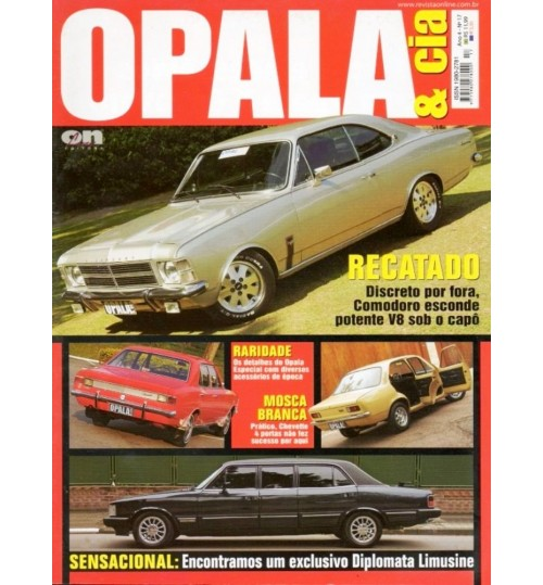 Revista Opala & Cia N° 17 Recatado