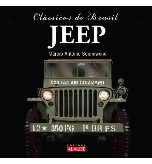 Livro Clássicos do Brasil Jeep