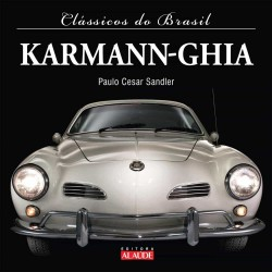 Livro Clássicos do Brasil Karmann Ghia