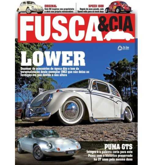Revista Fusca & Cia N°145 Lower