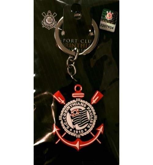 Chaveiro Histórico Escudo Corinthians Atual Emborrachado