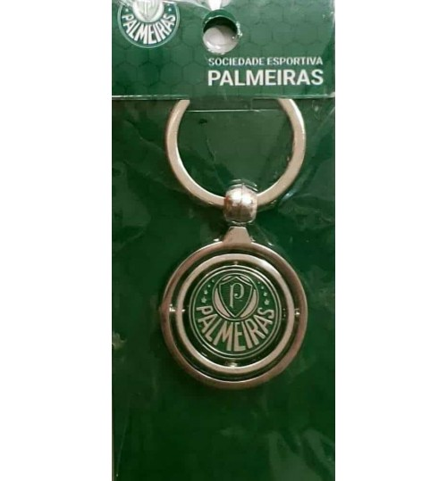 Chaveiro Histórico Rotativo Escudo Palmeiras Atual