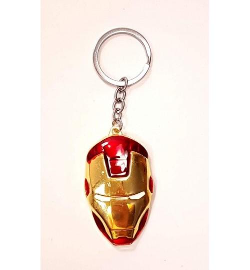 Chaveiro Máscara Iron Man Homem de Ferro Vermelho