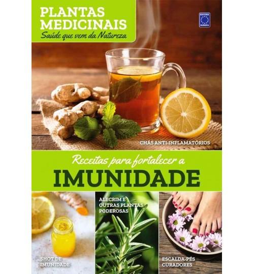 Livro Coleção Plantas Medicinais – Receitas para Fortalecer a Imunidade