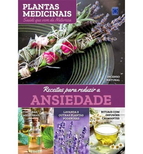 Livro Coleção Plantas Medicinais – Receitas Para Reduzir a Ansiedade