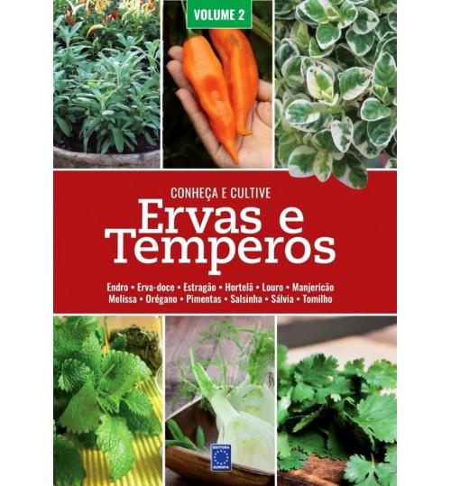 Livro Conheça e Cultive: Ervas e Temperos - Volume 2
