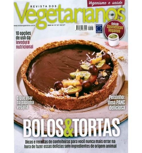 Revista dos Vegetarianos Bolos e Tortas N° 167