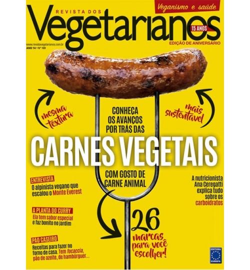 Revista dos Vegetarianos - Carnes Vegetais N° 169