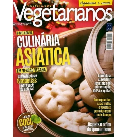 Revista dos Vegetarianos O Melhor da Culinária Asiática N° 166