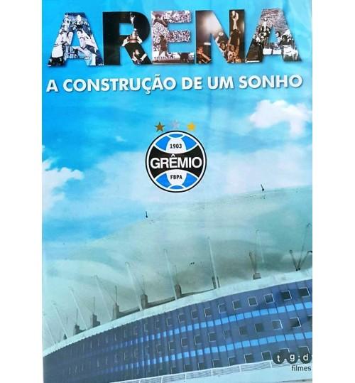 DVD Arena A Construção de um Sonho Grêmio