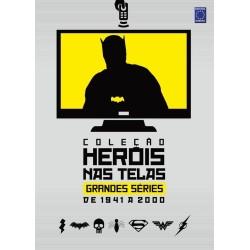 Livro Coleção Heróis nas Telas: Grandes Séries de 1941 a 2000