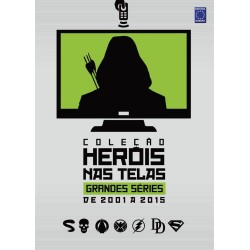Livro Coleção Heróis nas Telas: Grandes Séries de 2001 a 2015