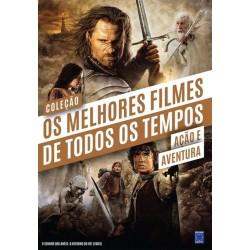 Livro Coleção Os Melhores Filmes de Todos os Tempos: Ação e Aventura