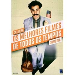 Livro Coleção Os Melhores Filmes de Todos os Tempos: Comédia