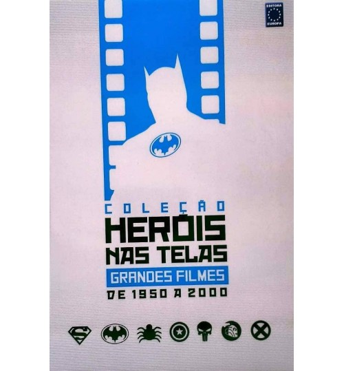 Livro Coleção Heróis nas Telas: Grandes Filmes de 1950 a 2000