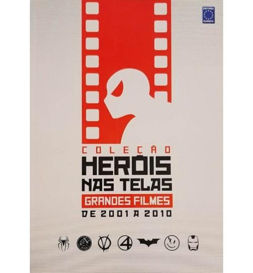 Livro Coleção Heróis nas Telas - Grandes Filmes de 2001 a 2010