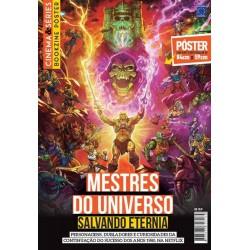 Revista Superpôster Bookzine Cinema e Séries - Mestres do Universo