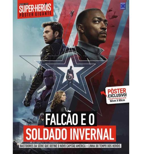 Revista Superpôster Bookzine Mundo dos Super-Heróis - Falcão e o Soldado Invernal
