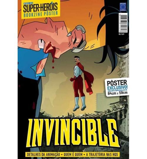 Revista Superpôster Bookzine Mundo Dos Super-Heróis - Invincible