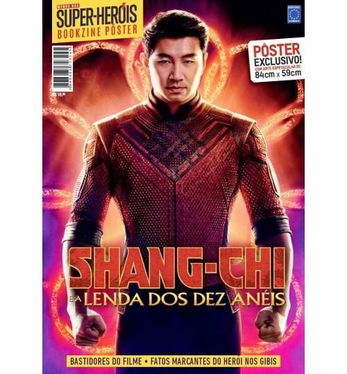 Revista Superpôster Bookzine Mundo Dos Super-Heróis - Shang-Chi e a Lenda dos Dez Anéis