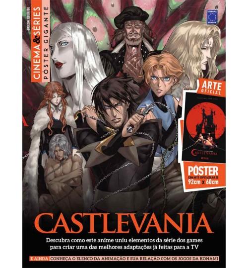 Revista Superpôster Bookzine Cinema e Séries - Castlevania