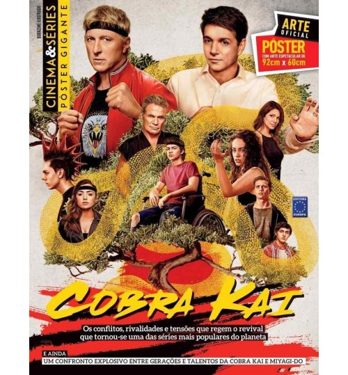 Revista Superpôster Bookzine Cinema e Séries - Cobra Kai