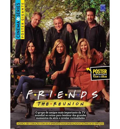 Revista Superpôster Bookzine Cinema e Séries - Friends The Reunion