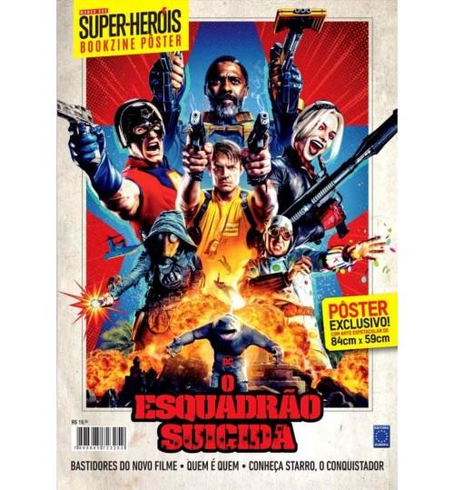 Revista Superpôster Bookzine Mundo Dos Super-Heróis - O Esquadrão Suicida