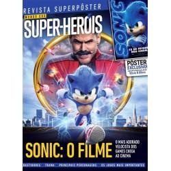 Revista Superpôster Mundo dos Super Heróis - Sonic: O Filme