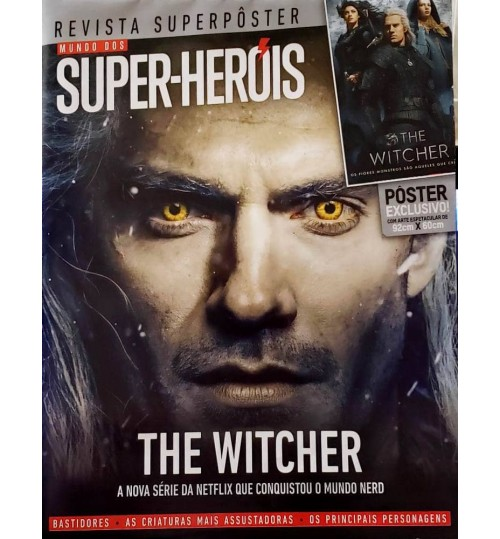 Revista Superpôster Mundo dos Super-Heróis - The Witcher
